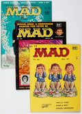 Magazines:Mad, MAD Group of 39 (EC, 1957-77) Condition: Average VF+.... (Total: 39 Comic Books)