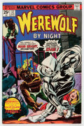 Bronze Age (1970-1979):Horror, Werewolf by Night #32 (Marvel, 1975) Condition: FN....