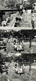 Books:Photography, [Children, New York]. Ruth Orkin Engel, photographer (1921 - 1985). Trio of Photographs by Engel Depicting Children at a New Y...