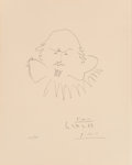 Prints, Pablo Picasso (1881-1973). Shakespeare, 1965. Lithograph on wove paper. 8-7/8 x 6-7/8 inches (22.2 x 17.5 cm) (image). 1...