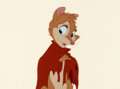 Animation Art:Production Cel, The Secret of NIMH Mrs. Brisby Production Cel (Don Bluth,1982). ...