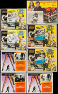 """Movie Posters:James Bond, The Man with the Golden Gun & Others Lot (United Artists, 1974). Mexican Lobby Cards (16) (11"""" X 13.75"""", 12.5"""" X 16"""" & 12.5""""... (Total: 16 Items)"""