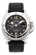 Timepieces:Wristwatch, Panerai Luminor Submersible Automatic, OP 6527 Steel Diver's Watch, B0962/1500. ...
