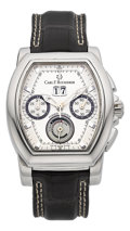Timepieces:Wristwatch, Carl F. Bucherer Patravi T-Graph Wristwatch. ...