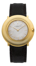 Timepieces:Wristwatch, Audemars Piguet 18k Yellow Gold Ultra-Thin Vintage Wristwatch. ...