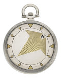 Timepieces:Pocket (post 1900), Breguet Very Fine & Rare 18k Gold Wandering Hour Pocket Watch, Original Box, circa 1935. ...