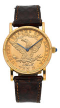 Timepieces:Wristwatch, Corum Unisex US $10 Gold Coin Wristwatch. ...