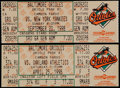 Baseball Collectibles:Tickets, 1998 Cal Ripken Jr. Streak Ends and 2500 Consecutive Game FullTickets (2)....