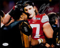 Football Collectibles:Photos, Joey Bosa Signed Photograph....