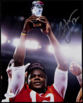 Football Collectibles:Photos, Cardale Jones Signed Photograph....