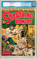 Golden Age (1938-1955):Superhero, Startling Comics #24 Pennsylvania Pedigree (Better Publications, 1943) CGC VF/NM 9.0 Off-white to white pages....