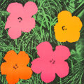 Post-War & Contemporary:Pop, Andy Warhol (1928-1987). Flowers, 1964. Offset lithograph incolors. 22 x 22 inches (55.9 x 55.9 cm) (image). 23 x 23 in...