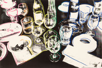 Andy Warhol (1928-1987) After the Party, 1979 Screenprint in colors on Arches paper 21-1/2 x 30-1