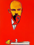 Post-War & Contemporary:Pop, Andy Warhol (1928-1987). Red Lenin, 1987. Screenprint incolors on Arches 88 paper. 39-1/4 x 29-1/4 inches (99.7 x 74.3 ...