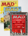 Magazines:Mad, MAD Group of 16 (EC, 1956-63) Condition: Average VG/FN.... (Total: 16 Comic Books)