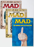 Magazines:Mad, MAD Group of 106 (EC, 1956-75) Condition: Average VG.... (Total:106 Comic Books)