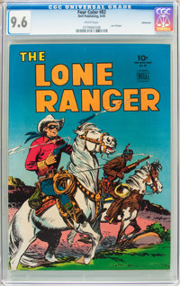 Four Color #82 The Lone Ranger - Vancouver Pedigree (Dell, 1945) CGC NM+ 9.6 White pages
