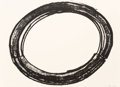Post-War & Contemporary:Contemporary, Richard Serra (b. 1939). Double Ring II, 1972. Lithograph onCurtis Rag paper. 35-1/4 x 48 inches (89.4 x 121.9 cm) (she...