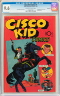 Golden Age (1938-1955):Western, Cisco Kid Comics #1 Carson City Pedigree (Baily Publication, 1944)CGC NM+ 9.6 Off-white to white pages....