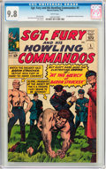 Sgt. Fury and His Howling Commandos #5 (Marvel, 1964) CGC NM/MT 9.8 White pages