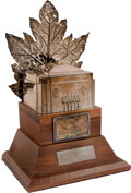 Hockey Collectibles:Others, 1972-73 Conn Smythe Trophy Presented to Yvan Cournoyer....