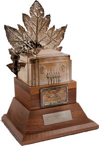 1972-73 Conn Smythe Trophy Presented to Yvan Cournoyer