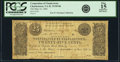 Obsoletes By State:Virginia, Charlestown, VA - Corporation of Charlestown 25 Cents May 23, 1861 Jones & Littlefield TC-05-06. PCGS Fine 15 Apparent.. ...