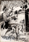 Original Comic Art:Splash Pages, Tony DeZuniga and Rico Rival Marvel Preview #3 Blade theVampire-Slayer Splash Page 18 Original Art (Marvel, 1975)...
