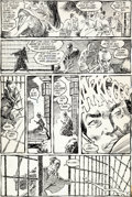 Original Comic Art:Panel Pages, Frank Miller Ronin #1 Story Page 7 Original Art (DC, 1983)....