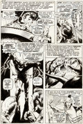 Original Comic Art:Panel Pages, Bernie Wrightson Chamber of Darkness #7 Story Page 7Original Art (Marvel, 1970)....