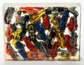 Post-War & Contemporary:Sculpture, Arman (1928-2005). Untitled. Toy cars in polyester resin. 9x 12-1/8 x 2-7/8 inches (22.9 x 30.7 x 7.3 cm). ...