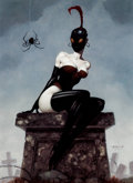 Memorabilia:Comic-Related, Gerald Brom Miss Muffet Signed Limited Edition Print #307/1000 (Brom, c. 2004)....