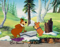 Animation Art:Production Cel, Yogi's Great Escape Animation Production Cel Animation Art(Hanna-Barbera, 1987). ...