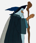 Animation Art:Production Cel, Lord of the Rings Gandalf the Gray Production Cel (UnitedArtists/Ralph Bakshi, 1978)....