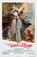 Memorabilia:Poster, Lord of the Rings Theatrical Movie Poster (United Artists,1978)....