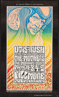 "Movie Posters:Rock and Roll, Otis Rush and His Chicago Blues Band at the Fillmore Auditorium(Bill Graham, 1967). Concert Poster # 53 (13.5"" X 22.5"") 2nd..."