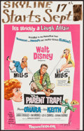 """Movie Posters:Comedy, The Parent Trap & Others Lot (Buena Vista, 1961). Window Cards (5) (14"""" X 22""""). Comedy.. ... (Total: 5 Items)"""