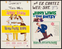 "Rock-a-Bye Baby & Others Lot (Paramount, 1958). Window Cards (4) (14"" X 22""). Comedy. ... (Total: 4 It..."