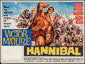 "Movie Posters:Action, Hannibal & Other Lot (Warner Brothers, 1960). British Quads (2)(30"" X 40""). Action.. ... (Total: 2 Items)"