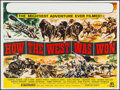 "Movie Posters:Western, How the West was Won (MGM, 1963). British Quad (30"" X 40""). Western.. ..."