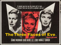 "Movie Posters:Drama, The Three Faces of Eve & Other Lot (20th Century Fox, 1957). British Quads (2) (30"" X 40""). Drama.. ... (Total: 2 Items)"