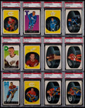 Hockey Cards:Lots, 1962 Parkhurst Hockey PSA Graded Collection (12)....