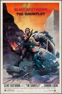 """The Gauntlet (Warner Brothers, 1977). One Sheet (27"""" X 41""""). Action"""