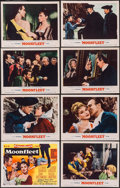 "Movie Posters:Adventure, Moonfleet (MGM, 1955). Lobby Card Set of 8 (11"" X 14""). Adventure..... (Total: 8 Items)"