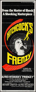 """Movie Posters:Hitchcock, Frenzy (Universal, 1972). Insert (14"""" X 36""""). Hitchcock.. ..."""