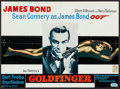"Movie Posters:James Bond, Goldfinger (United Artists, R-1970s). Belgian (16.5"" X 22.25""). James Bond.. ..."
