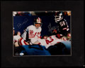 Football Collectibles:Photos, Lawrence Taylor and Joe Montana Multi Signed OversizedPhotograph....