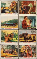 """Movie Posters:Western, Cavalry Scout & Others Lot (Monogram, 1951). Lobby Card Set of8 & Lobby Cards (22) (11"""" X 14""""). Western.. ... (Total: 30Items)"""