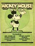 Platinum Age (1897-1937):Miscellaneous, Mickey Mouse Book Later Printing (Bibo & Lang, 1931) Condition:GD/VG....