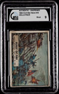 "Non-Sport Cards:Unopened Packs/Display Boxes, 1962 Topps ""Civil War News"" Cello Pack GAI Mint 9. ..."